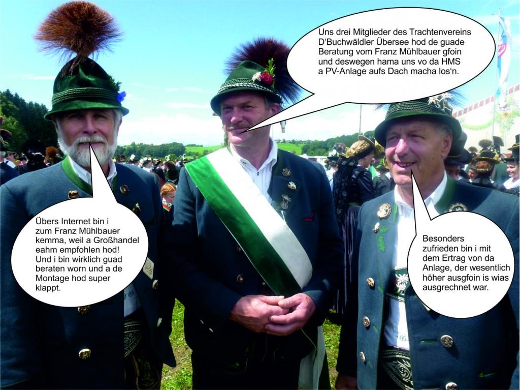 Gries Franz, Pfisterer Josef, Lechner Georg